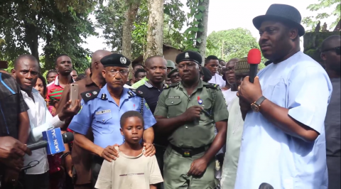 Bomb explosion: Government, police, army condole Eziorsu residents