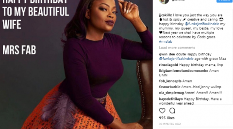 JJC Skillz gushes about Funke Akindele