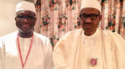 Buhari, Jibrin meet in Aso Rock