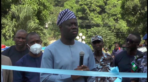 Makinde Restates Commitment to Security of Lives and Property in Oyo State