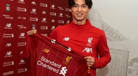 Liverpool confirms £7.25m Minamino signing