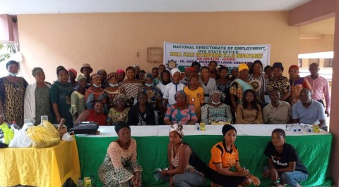 NDE in Oyo Trains 1000 Entrepreneurs on Loan