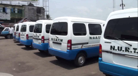 NURTW members receive buses to check crisis