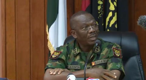 Nigerian Army opens up on shooting range