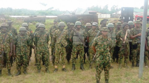 Army flags off operation crocodile smile in Delta