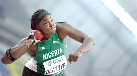 Olatoye, Onyekwere crash out of women's shot put, discus
