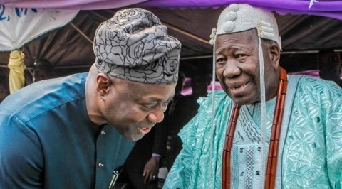 Makinde Denies Strain Relationship with Olubadan