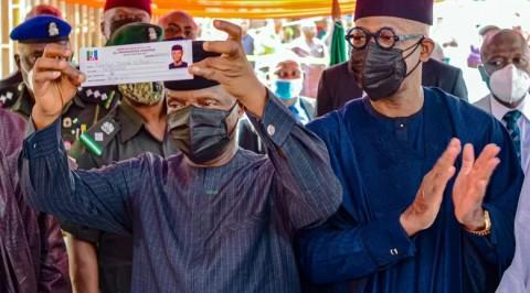 Yemi Osinbajo, Abiodun Revalidate APC Membership in Ogun