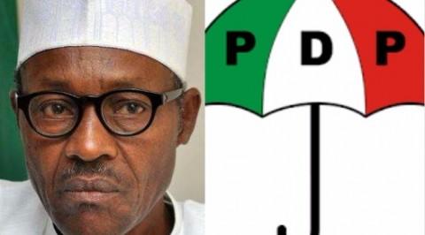 PDP blasts President Buhari