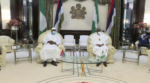 President Buhari Promises Continuous Support for Gambia