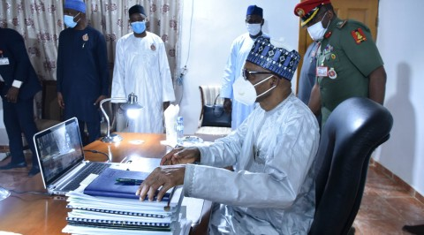 Buhari Joins from Daura as Osinbajo Presides over 28th Virtual FEC