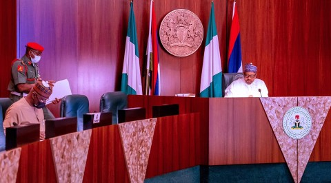 Buhari Presides over 22nd Virtual FEC