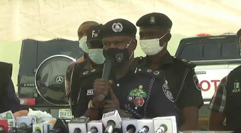 Police Parades 18 Suspects