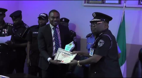 Galaxy TV receives award from NPF