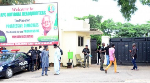 Police Seal Off APC Headquarters
