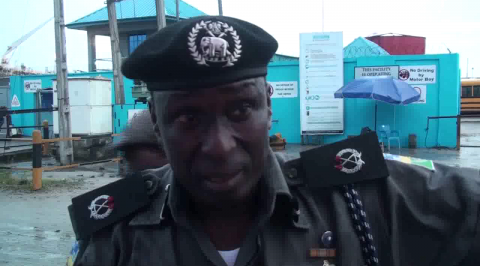 Police raid illegal refineries storage site in Delta