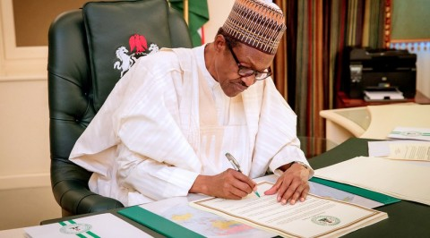 Buhari signs 2019 appropriation bill into law