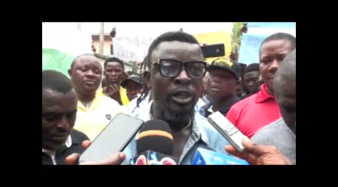 Delta youths protest for NDDC MD