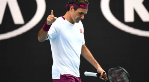 Federer Saves Seven Match Points in Australian Open