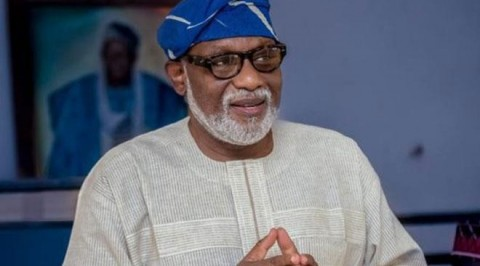 Gov Akeredolu solicits for better funding for security