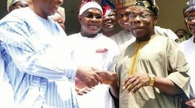 Saraki consults Obasanjo