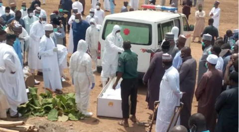 Buhari former Chief of Staff, Abba Kyari laid to rest