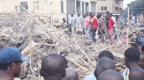 Anambra building collapse: 4 feared dead