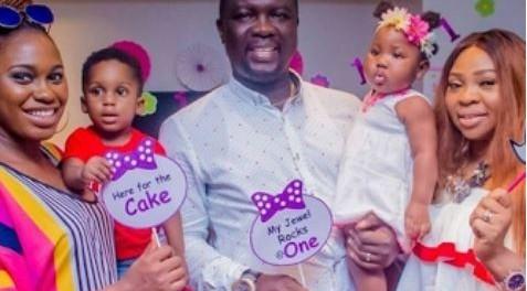 Seyi Law marks daughter's birthday (photos)