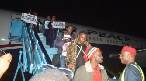 188 Nigerians arrive Nigeria from South Africa