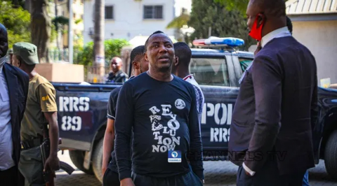 Sowore Remanded At Force CID, Court Rules on Bail Jan 8