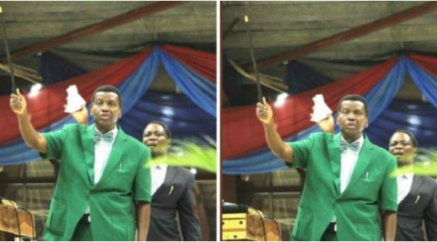 Adeboye reveals his special staff for miracle