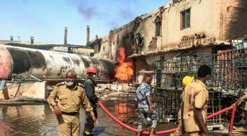 Twenty-three killed in ceramics factory fire in Sudan