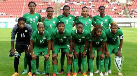 Falcons land in Paris for FIFA women's w/cup