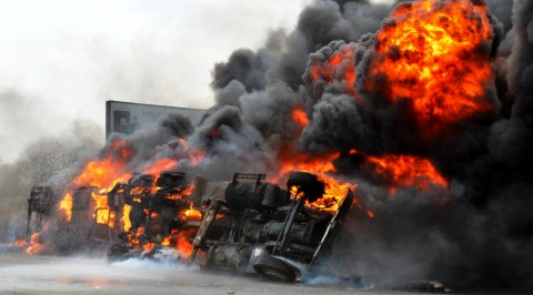 One Dead many Sustain Injuries in Imo Tanker Explosion.