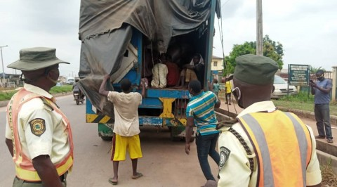 Ogun Traffic Agency Intercepts Truck with 30 Almajirai