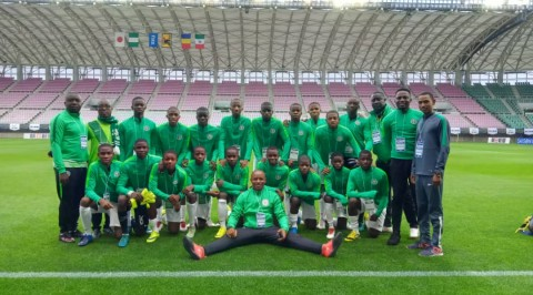 Future Eagles thrash Mexico