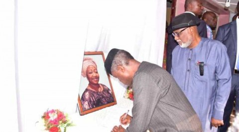 VP Osinbajo pays condolence visit to Afenifere leader
