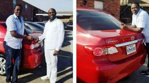 Muyiwa Ademola receives car gift