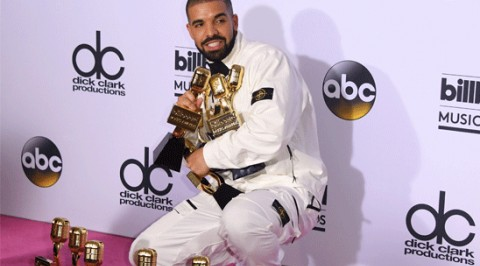 Drake bags 13 BBM Awards, breaks Adele record