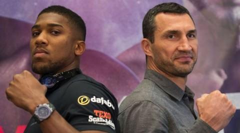 Joshua will face 'Everest' in heavyweight title fight says Klitschko