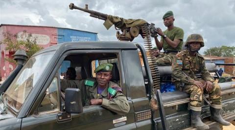 Heavy gunfire erupts as DR Congo's anti-UN protests continue