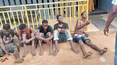 Five Cultists Arrested with a Corpse in Ogun
