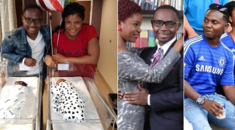 Teju Babyface and wife welcome twins after 6 years