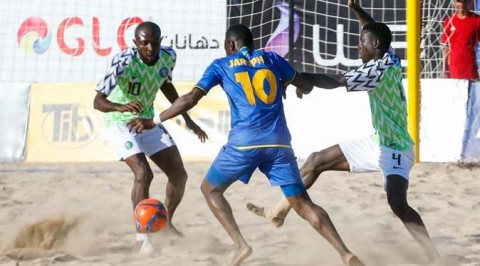 Nigeria withdraws from beach soccer tournaments