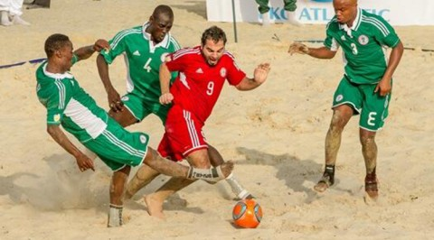 Beach soccer: Nigeria loses to Oman
