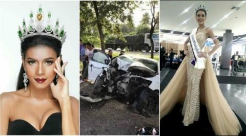 Beauty queen dies in ghastly car crash