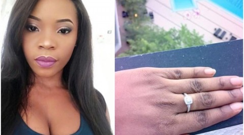 Linda ikeji's sister gets engaged
