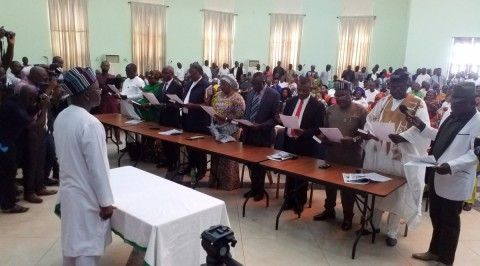 Benue gov holds spiritual retreat for commissioners