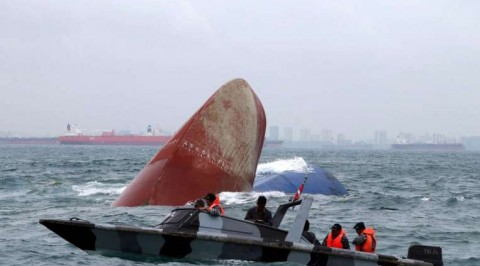 Speed boat sinks in central Indonesia