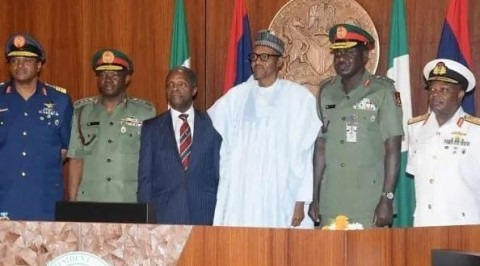 Insecurity: Buhari Advised to Replace Security Chiefs